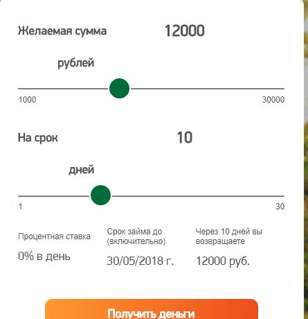 Получить кредит на сайте Вивус
