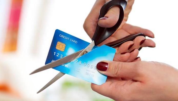 Процедура закрытия кредитки