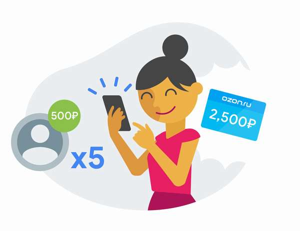 Интернет-магазин Озон – оплата бонусами Спасибо от Сбербанка