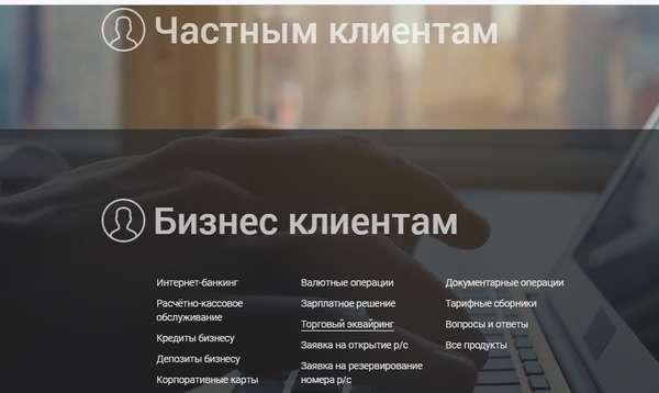 Личный кабинет Фора Банка